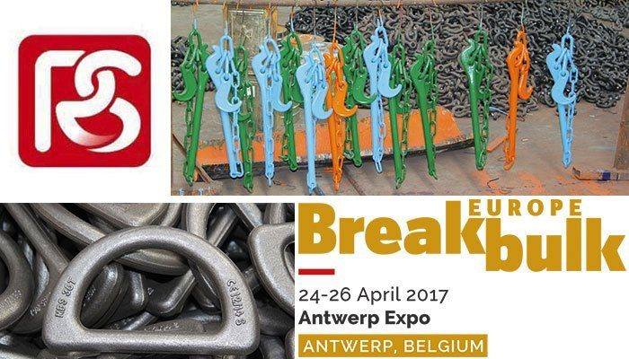breakbulk europe, antwerp, qingdao yuedasite rigging co. ltd., stuut lifting lashing